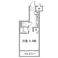 アットイン国分寺1間取図