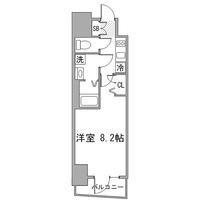 【ウィンターセール】アットイン田端1間取図