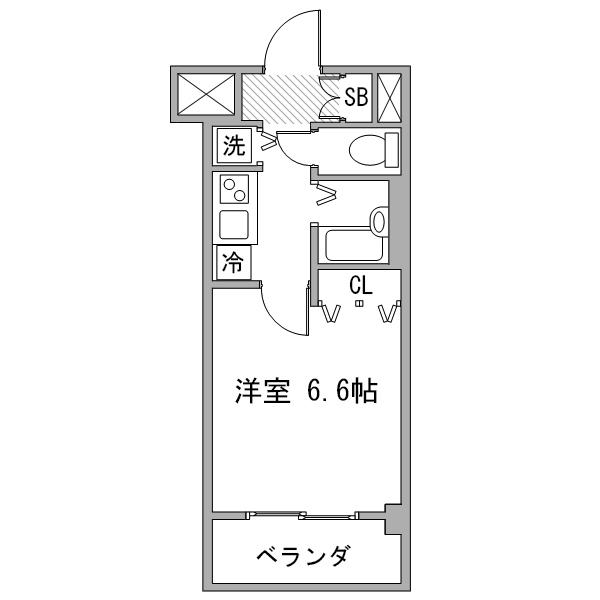【秋割】アットイン横浜20の間取り