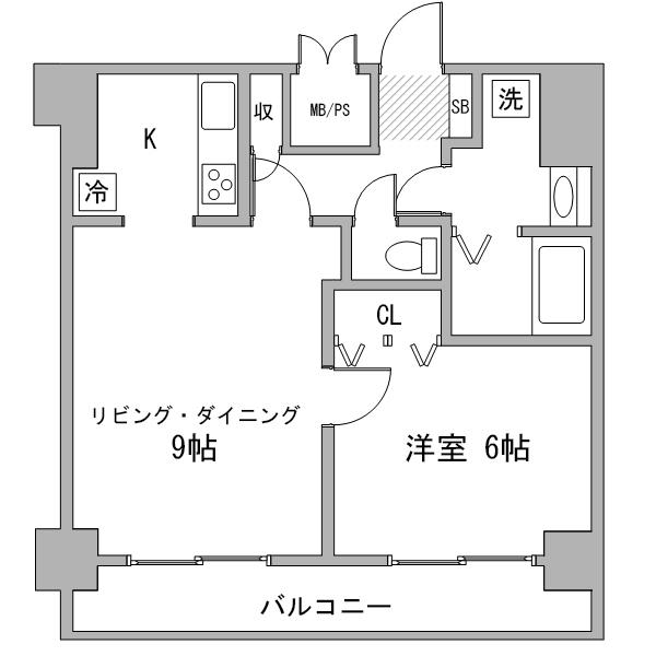 【夏割】◆アットイン日本橋11-6の間取り