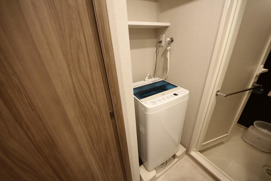 洗濯機は脱衣所設置で便利!