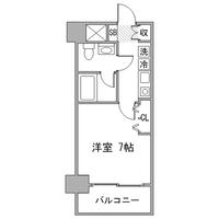 アットイン品川8-1間取図