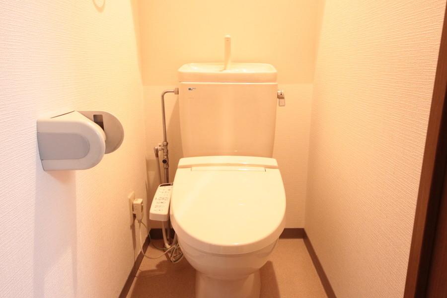 こだわりのお客様に人気のシャワートイレ